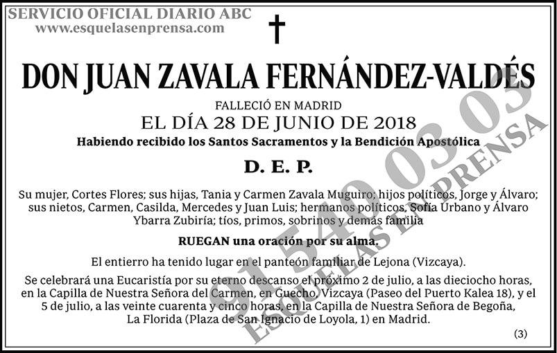 Juan Zavala Fernández-Valdés